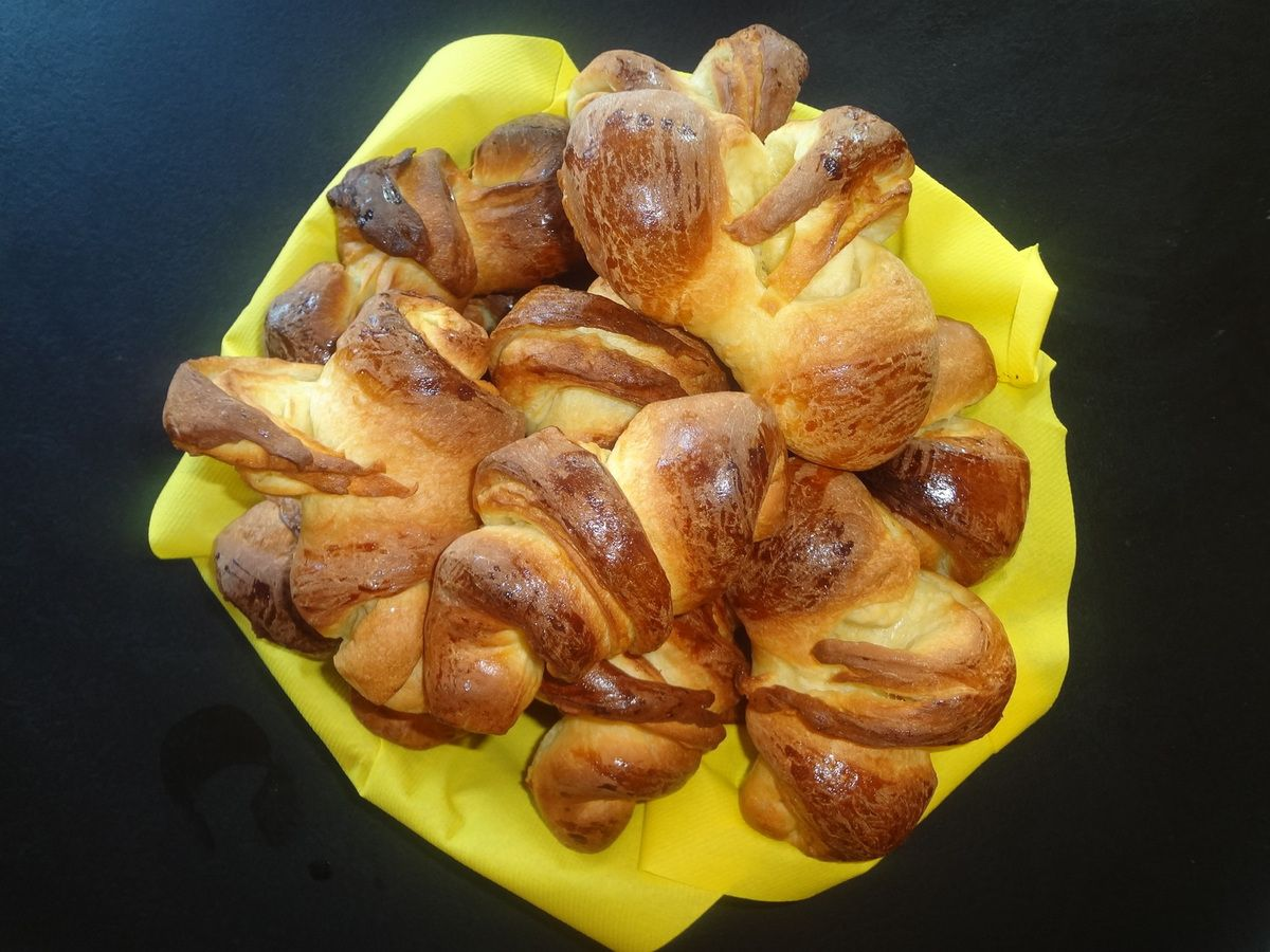 Croissants Thermomix Cordon Rose