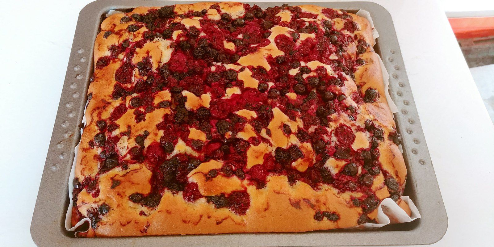 Bublanina aux fruits rouges Thermomix ou non