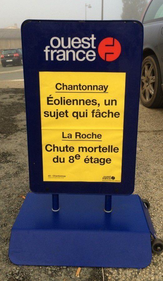 Projet du parc éolien à Chantonnay ,un sujet qui fâche!!