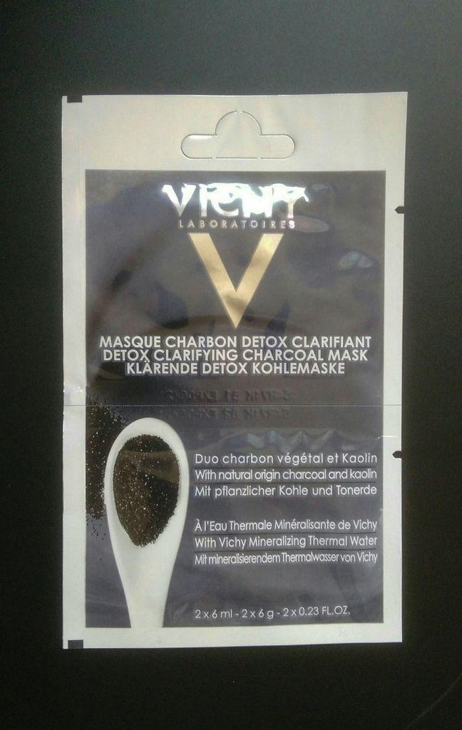 Vichy, Masque au Charbon Detox Clarifiant