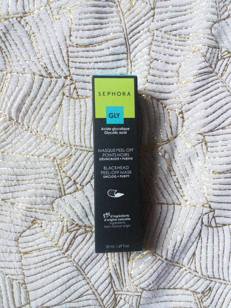 Sephora, Masque Peel-Off, Point Noir