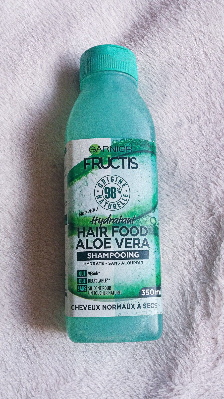 Garnier, Fructis, Hair Food, Aloe Vera