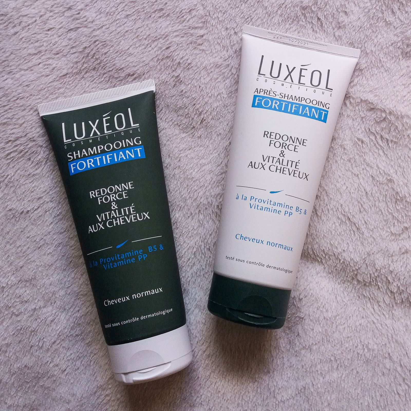 Luxéol, Shampooing et Après-Shampooing, Fortifiant
