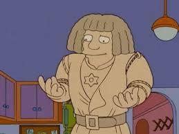 Golem dans Les Simpson