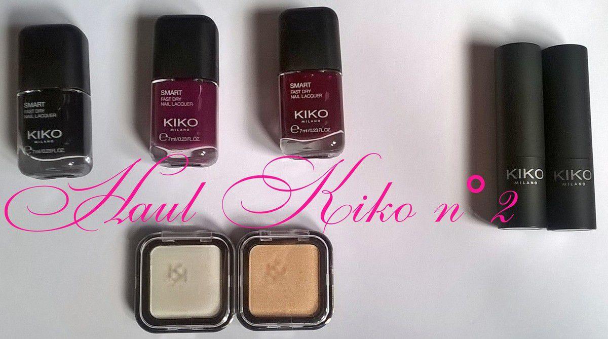 Haul Kiko n°2 (partie 3)