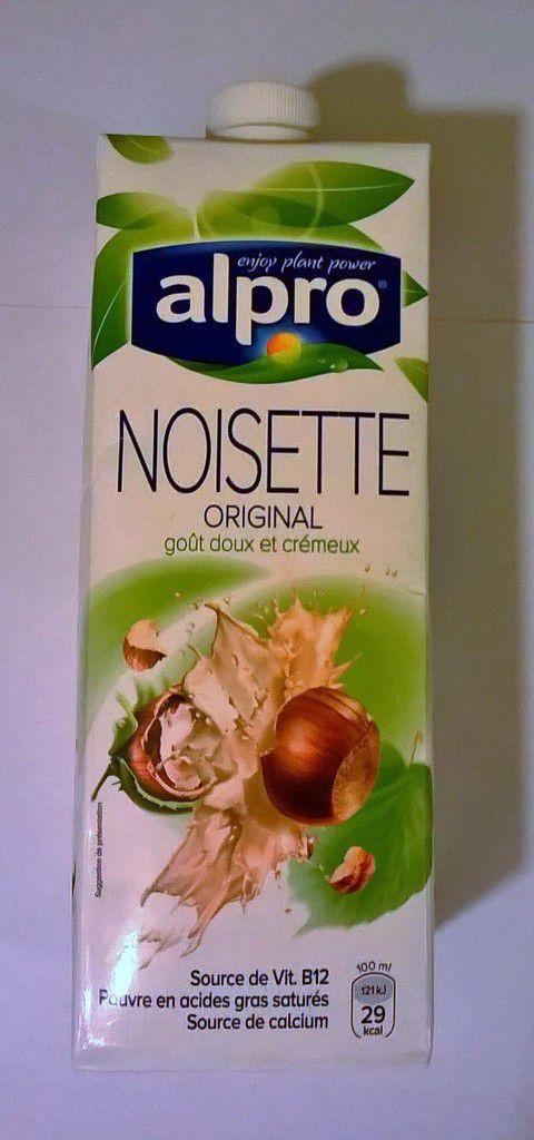 Alpro, Lait de Noisette