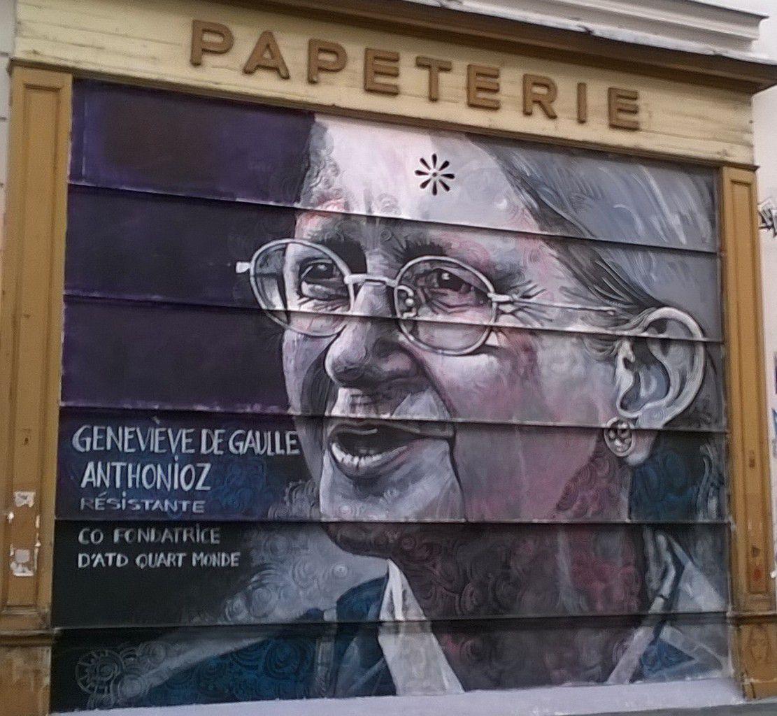 Découverte de Street Art à Belleville et visite du Cimetière du Père LachaiseDiverd