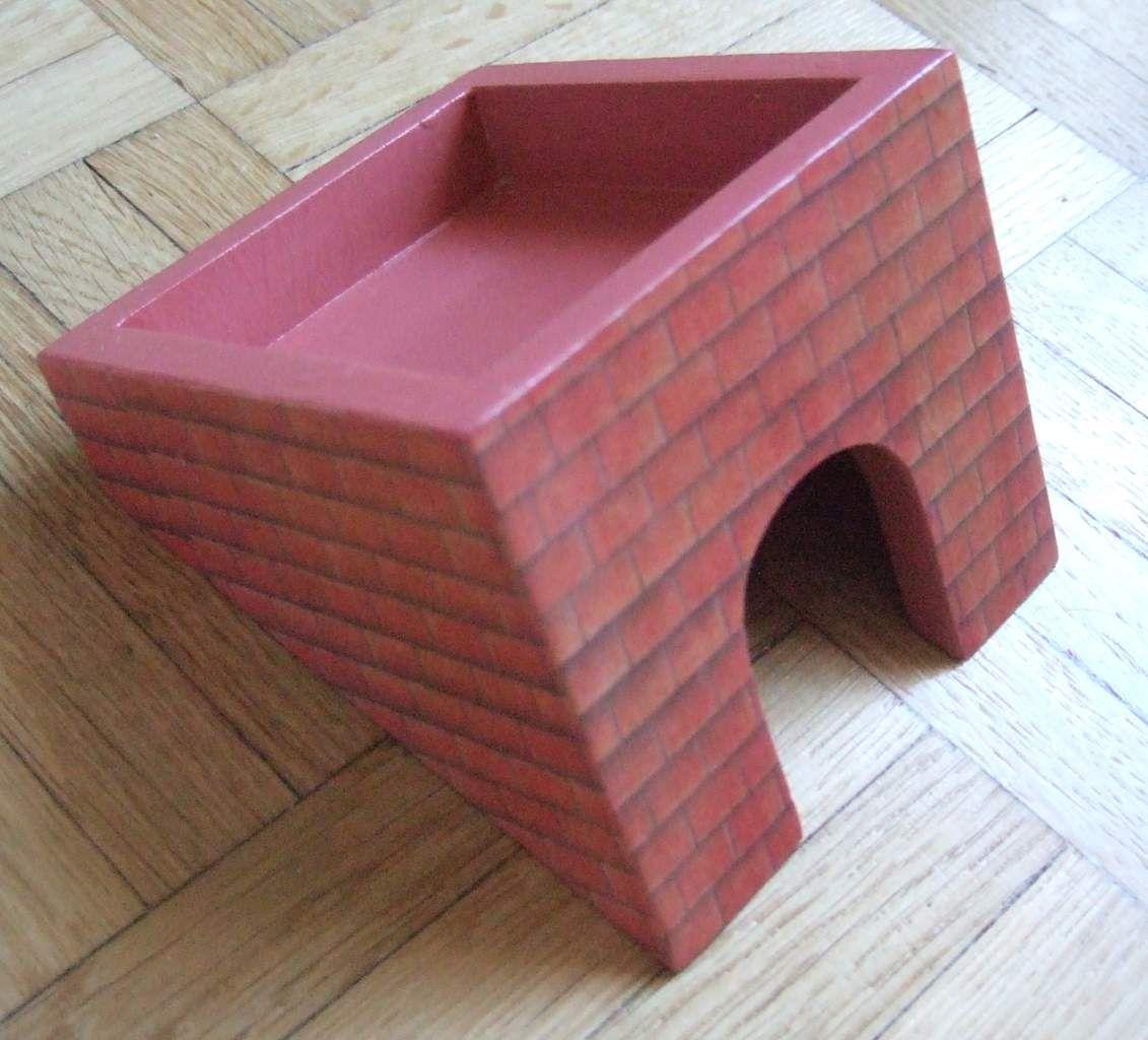 """Opération """"maison de poupée """" 1ère étape : le dernier étage - 1/ le toit"""