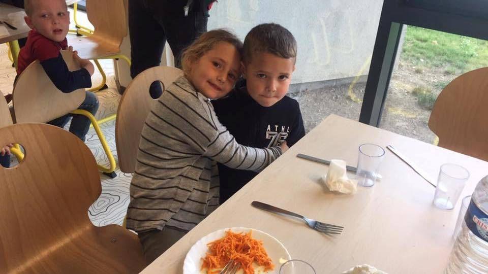 on préfère manger à la cantine !!!!