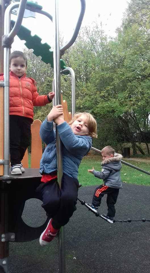 parc des cytises le mercredi 25 octobre pour les maternels