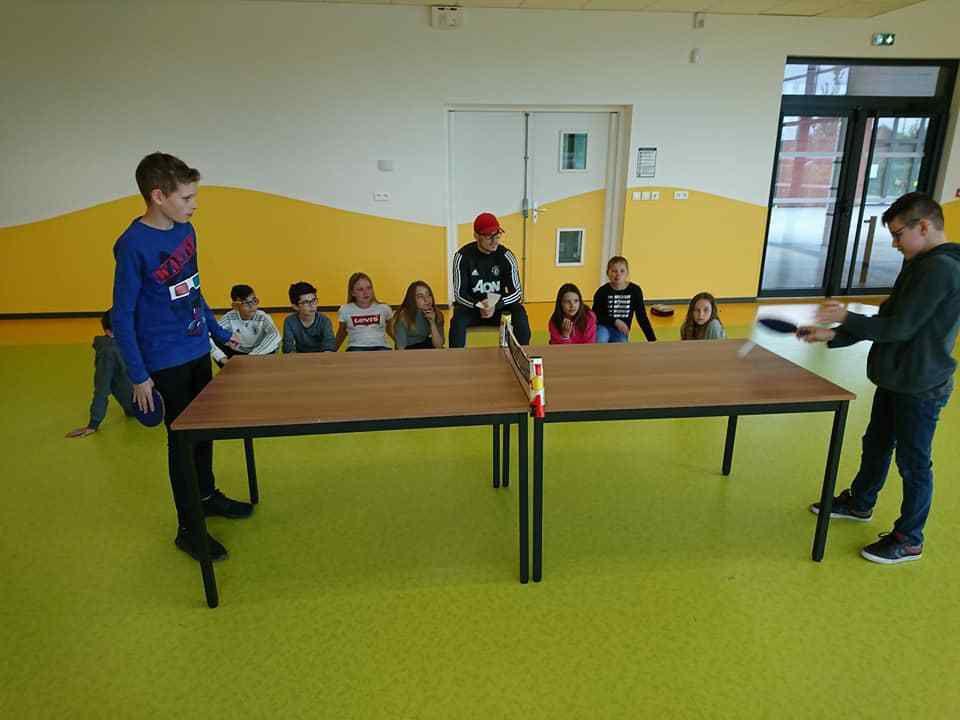 création de bougie et tournois de ping pong