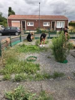 Action Citoyenne - aide au jardin chez l'habitant