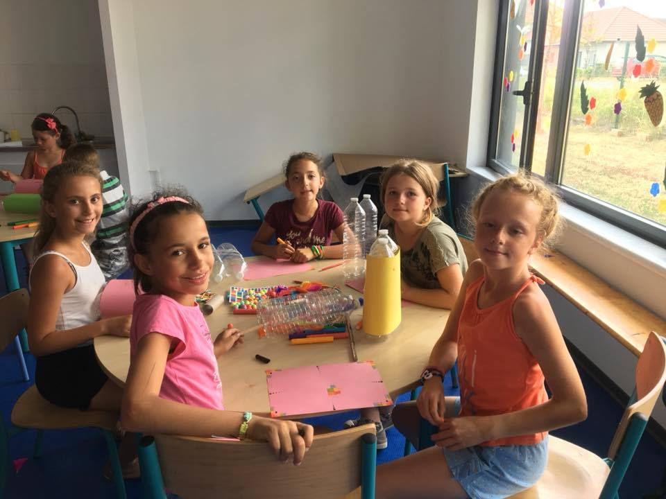 Visite Croq'Expo - Arras - Ping- pong et création de bateaux