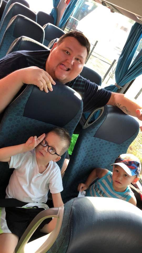 Les maters ont pris la route pour rentrer à Lallaing - suite des photos de la FERME AUX AUTRUCHES bientôt