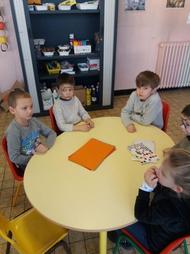 Activité manuelle pour les petits