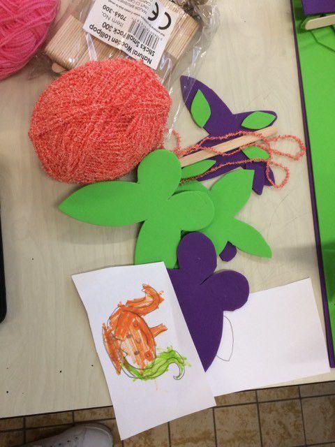 Création de fèves, lettres prénoms, jeux extérieurs