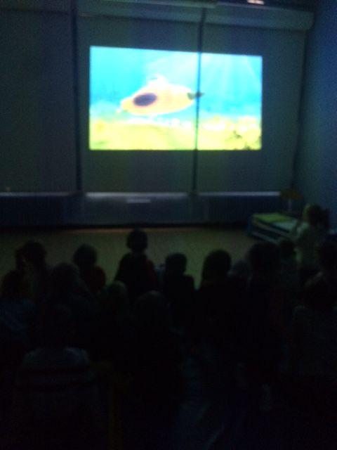 Séance cinéma pour les petits, on digère !!!