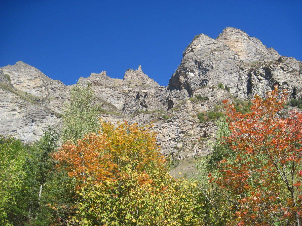 La forêt se parre des couleurs de l'automne. (Photo MR)