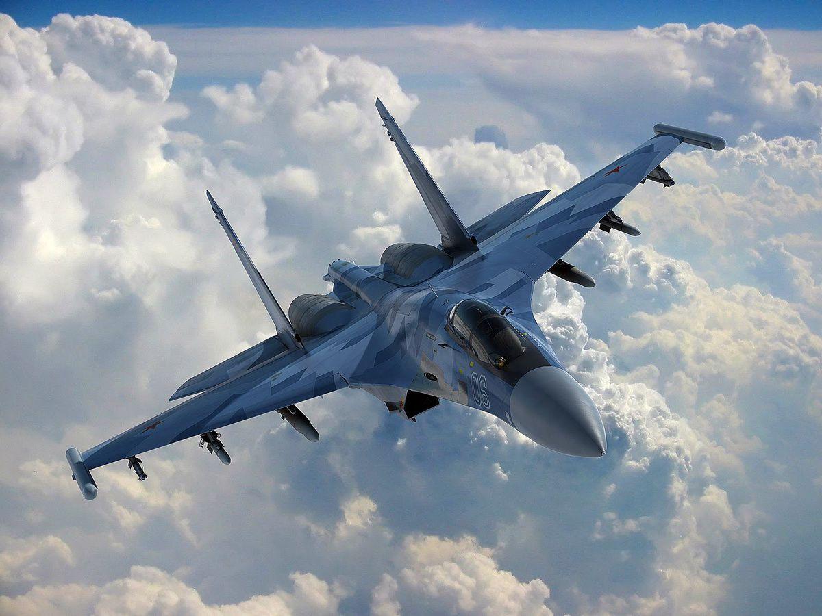Le Soukhoï Su-35 est le plus moderne des chasseurs russes.