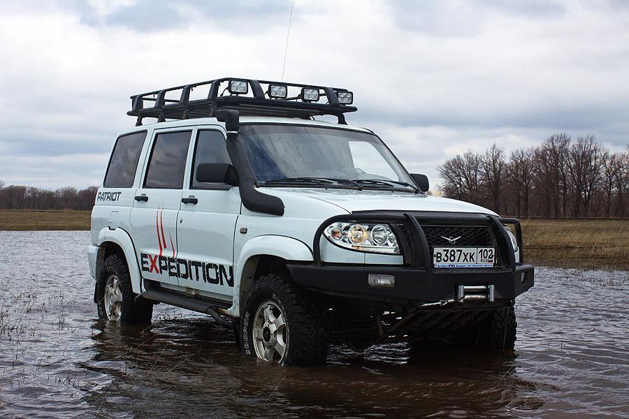 UAZ ''Patriot'' préparation Off-Road (contact pour essai => ZP Adventura Sports)