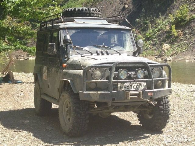 UAZ ''Hunter'' préparation Off-Road (Contact pour essai => ZP Adventura Sports)