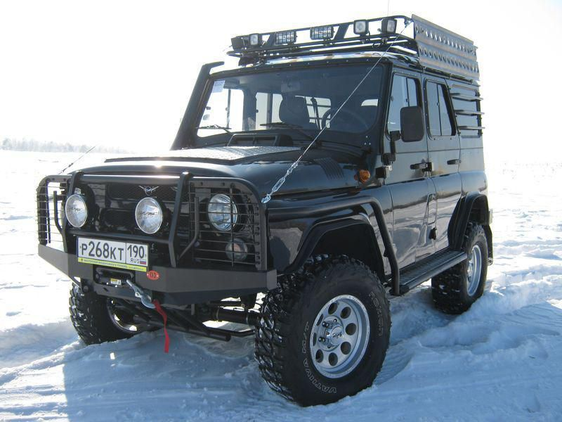 UAZ Hunter Off-Road