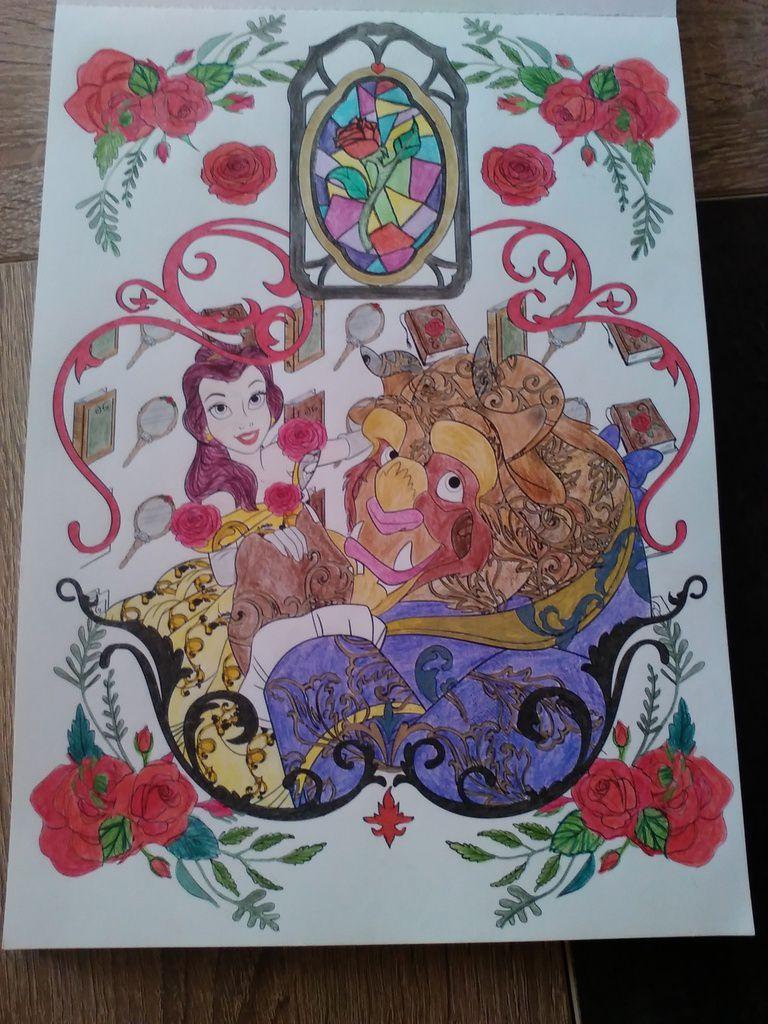 Bloc De Coloriage Love Stories My Fairy World