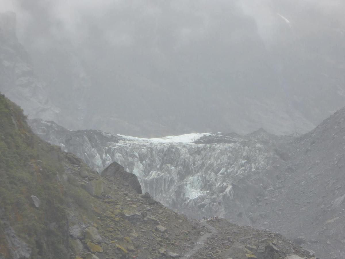 Les glaciers Franz Josef et Fox