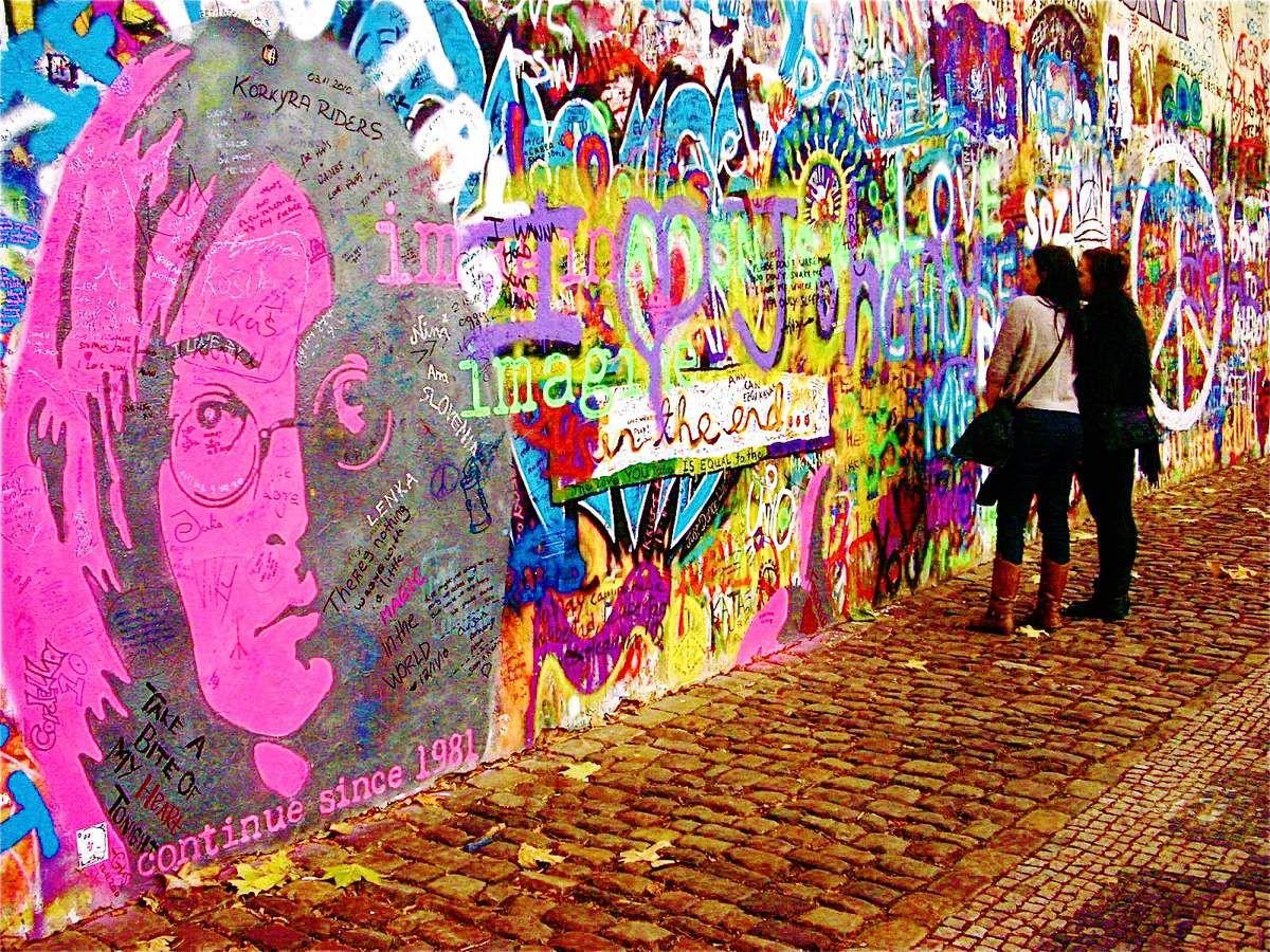 Mur John Lennon - Tous droits réservés