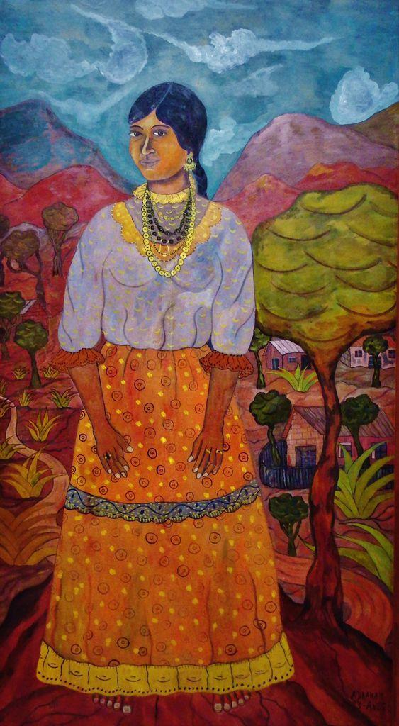 L'indienne - Abraham Angel 1923 - Copyright mycottoncloud
