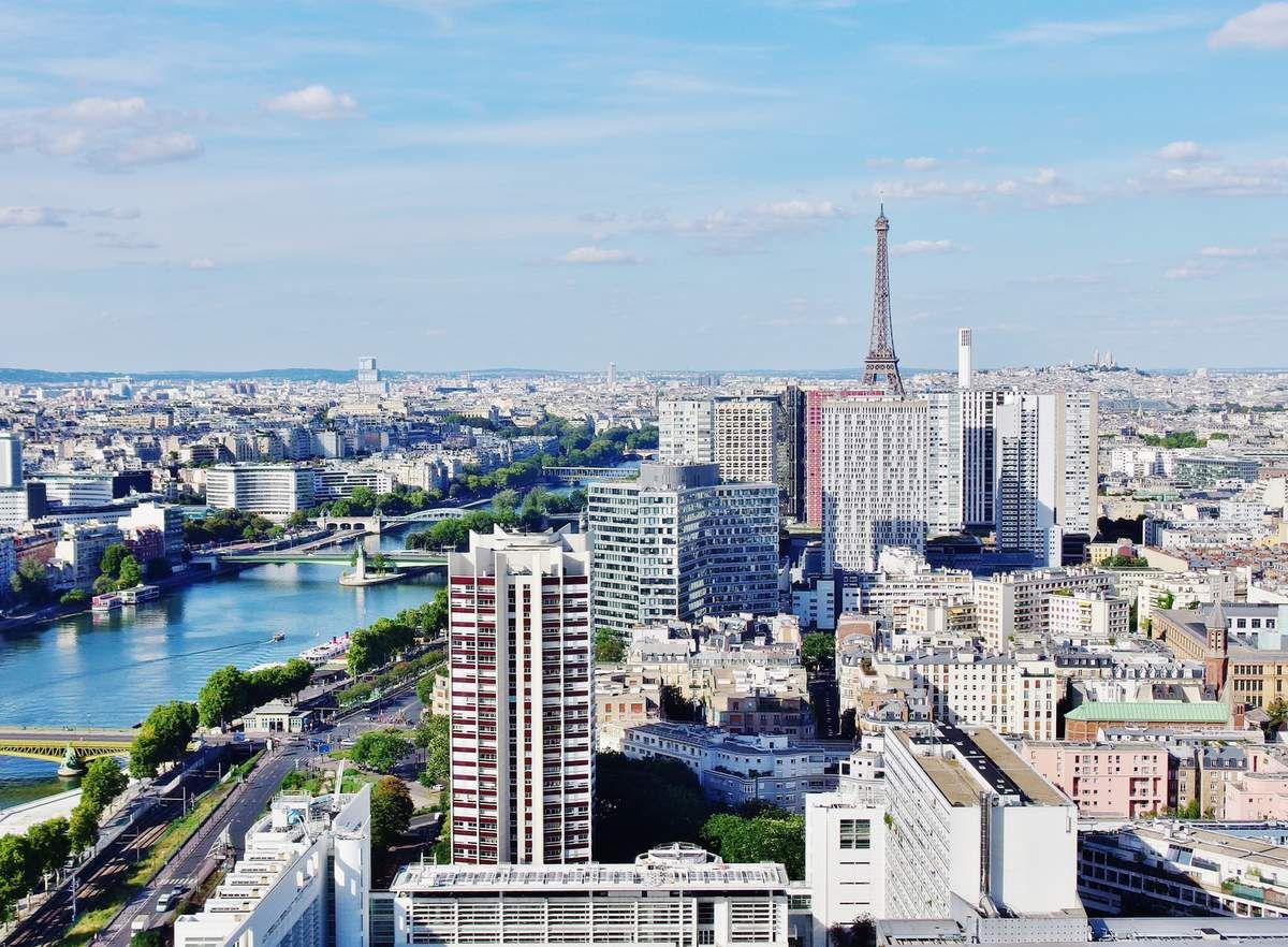 Vue sur la Tour Eiffel - Copyright mycottoncloud