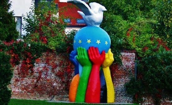 Europe Unity in Peace - Square Maerlant