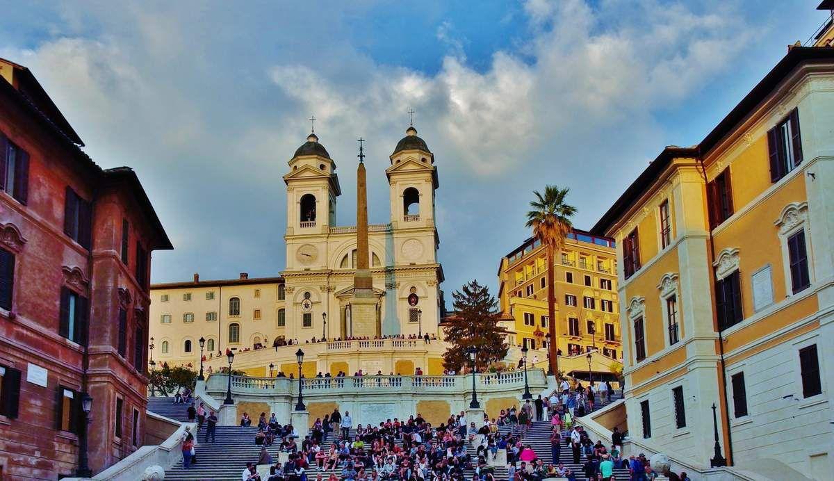 Piazza di Spagna - Copyright mycottoncloud