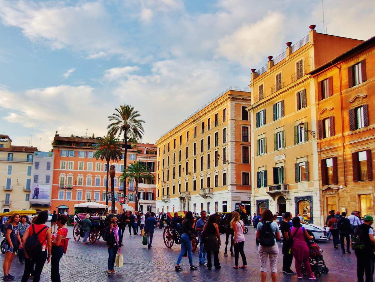 Piazza di Spagna - Copyright mycottoncloud