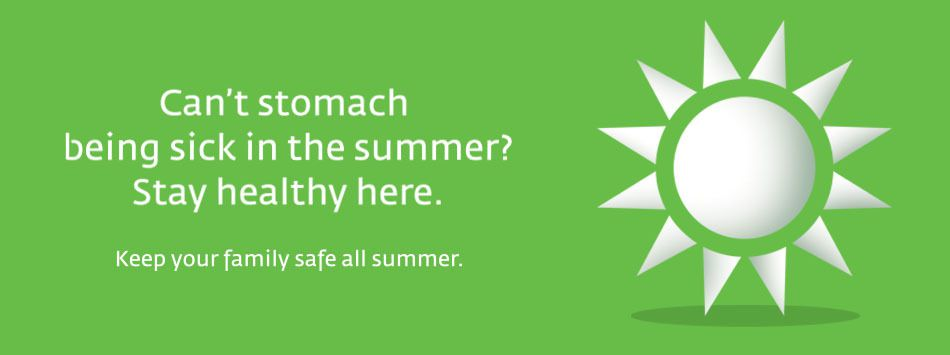 Keep your tummy safe this summer