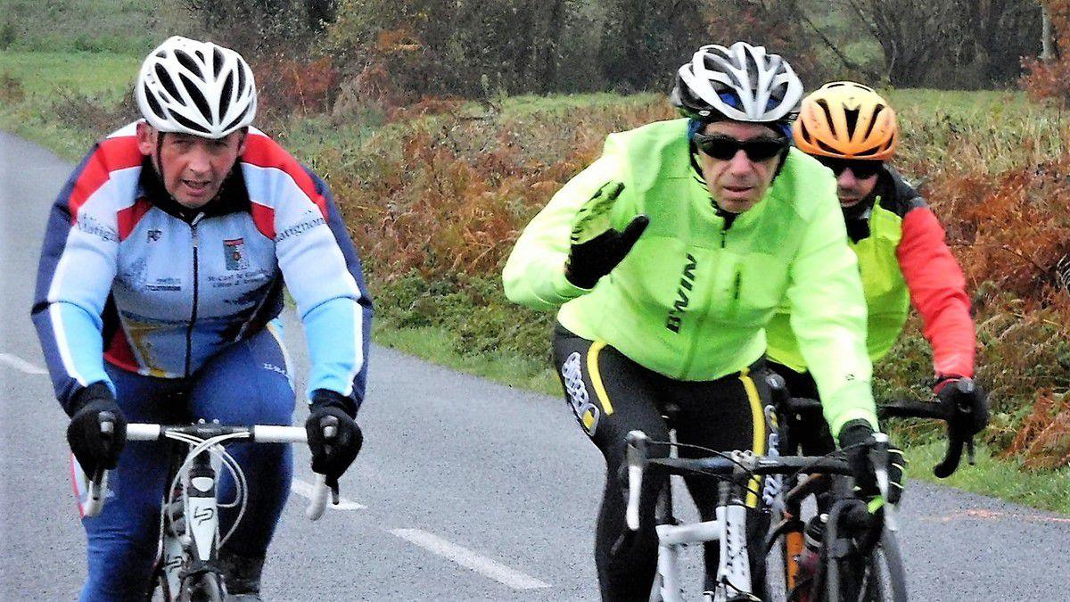 Sortie du dimanche 3 novembre - 60 et 49km