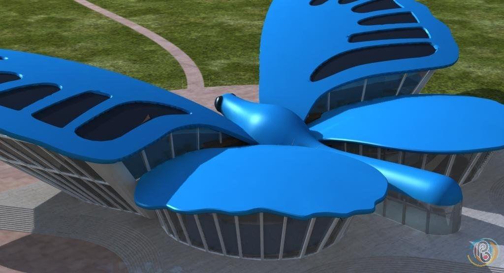 Cité ATLAS labellisée Le Papillon Source EL4DEV – Un Parc à thèmes Altermondialiste près de Marrakech, Maroc