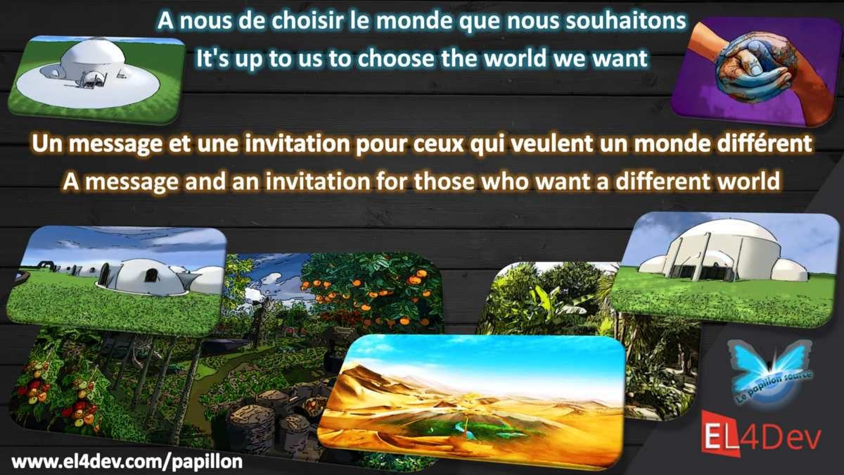 Ce qui motive justifie le projet du Papillon Source http://www.el4dev.com/papillon/