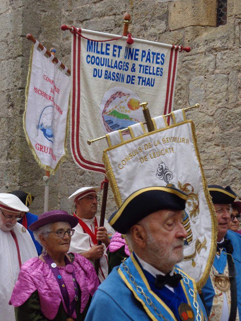 Grand Chapitre De La Confrérie De L'anguille. Gruissan.