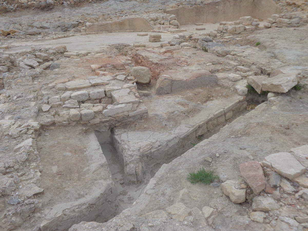 Site romain de l'Île Saint Martin Gruissan