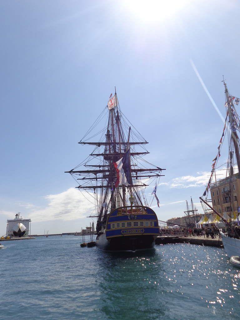 Escale à Sète le 30 Mars 2018.
