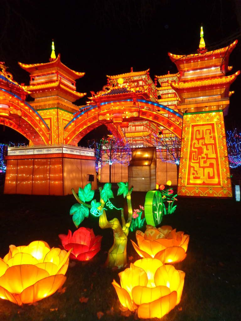 Festival des lanternes. GAILLAC.