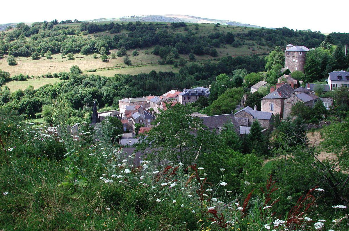 Saint-Léons du Lévézou, village natal de J.H. Fabre. Photo : René Michaud