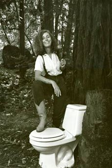Kathleen in the Redwoods, 1989 Courtesy of San Francisco Examiner - Photo : Carolyn Cole