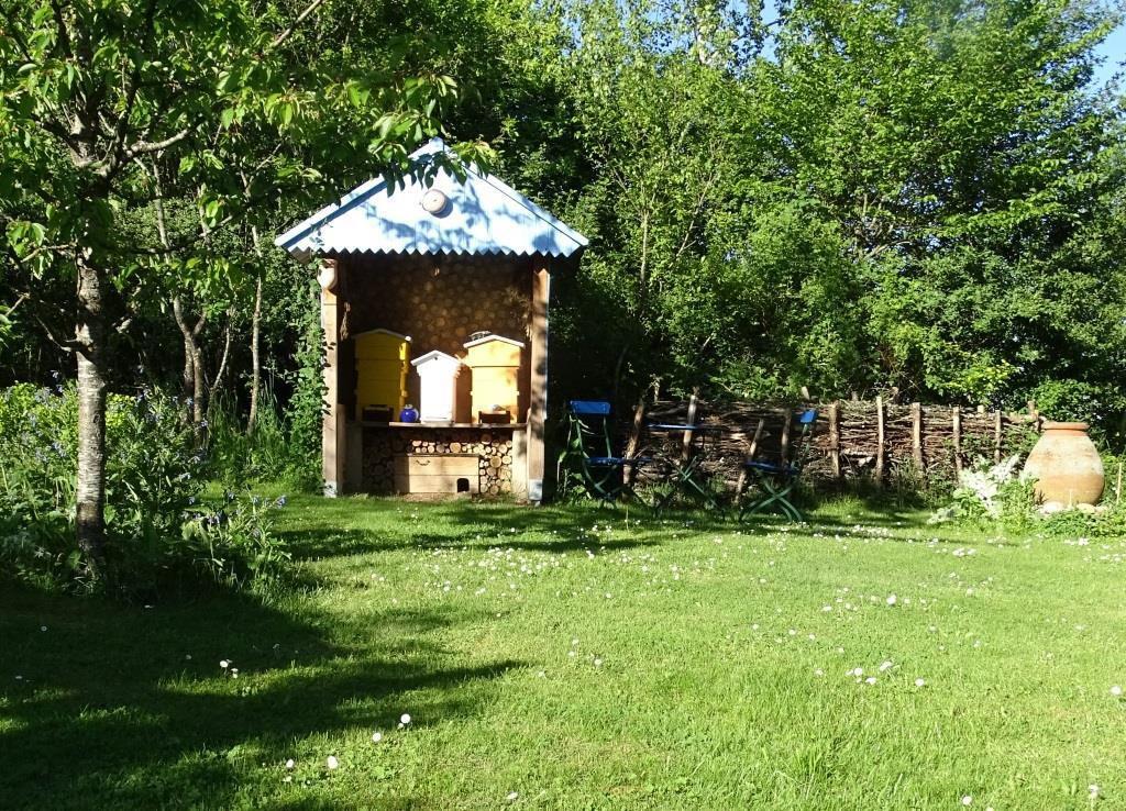 Les Joubarbes, la cabane à Max. Photo : JLS