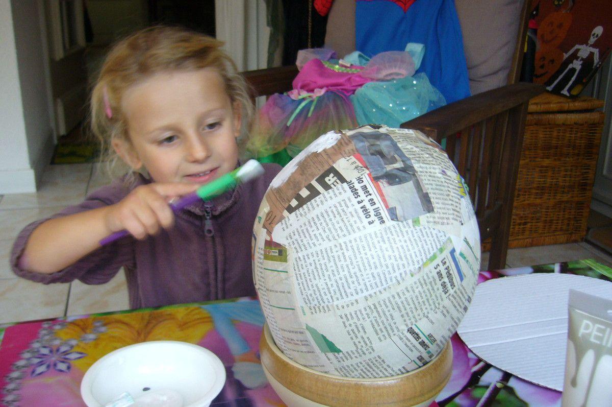 Activité manuelle pour enfant sur le thème d'Alloween : Mr Jack