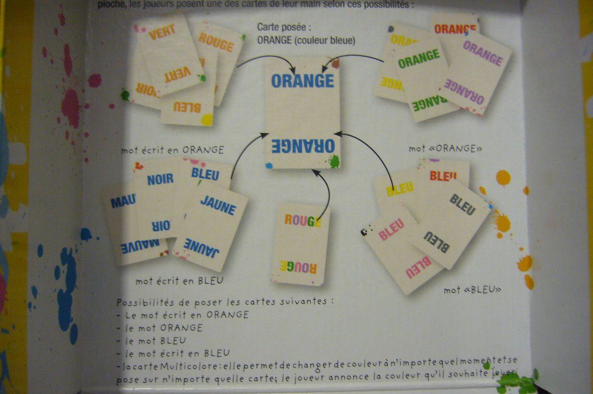 Color addict : jeu de cartes