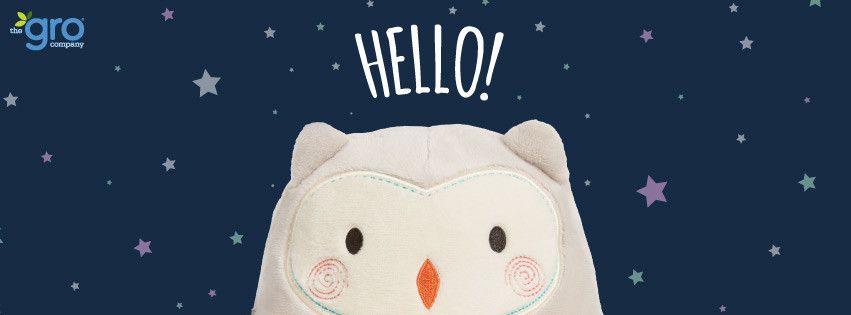 Notre aide au sommeil son et lumière Ollie The Owl - the Gro Compagny !