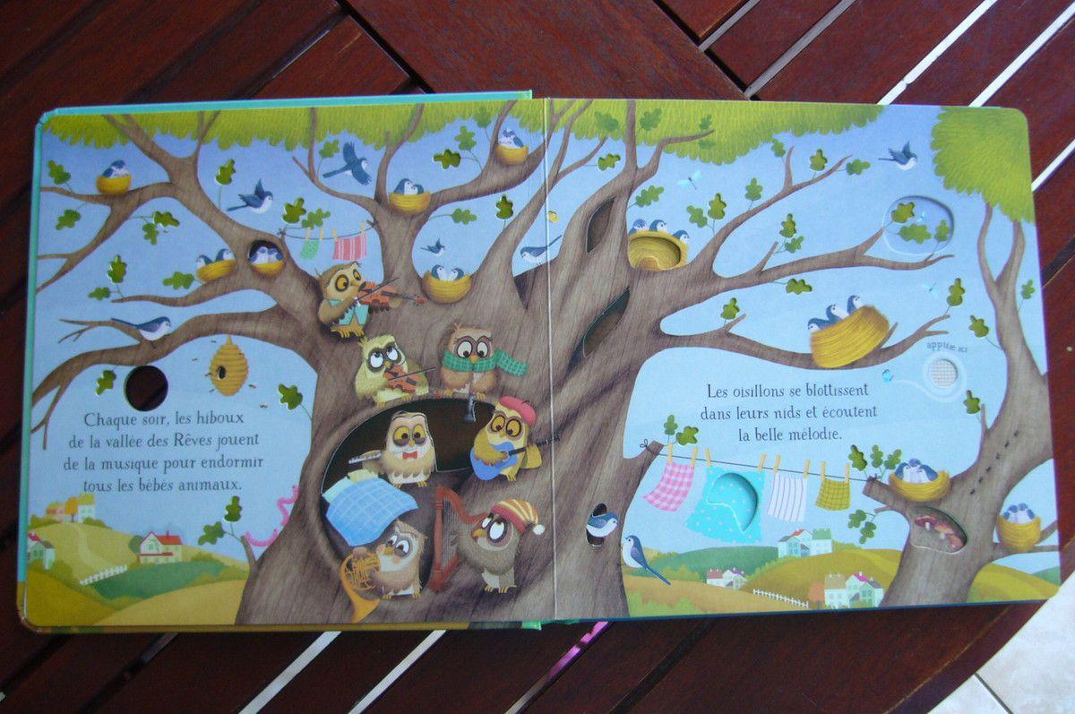 Petites berceuses pour bébé aux Editions Usborne