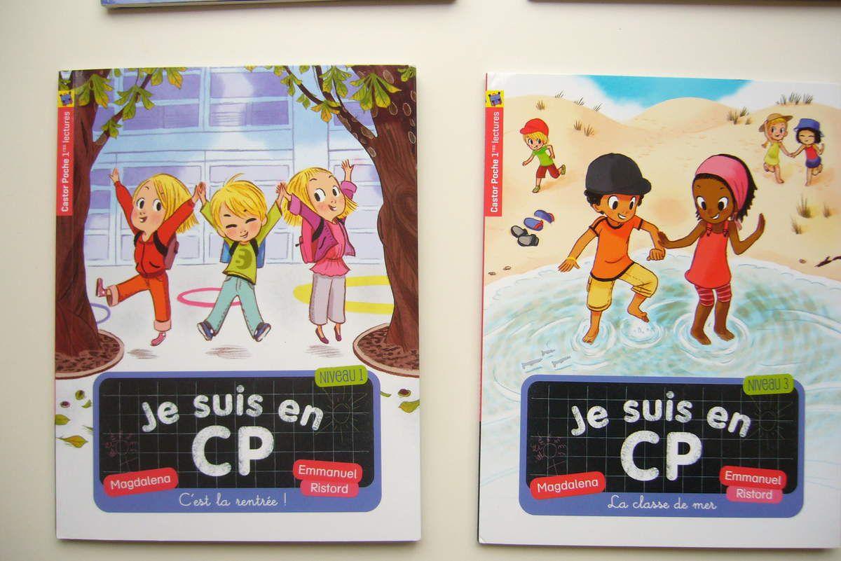 Premières lectures - Conseillé à partir de 6 ans - tarif: 5.60 € le livre